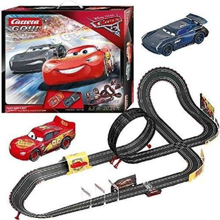 Circuit CARRERA GO ! Disney/Pixar Cars 3 - Fast Not Last - 6,2m de piste