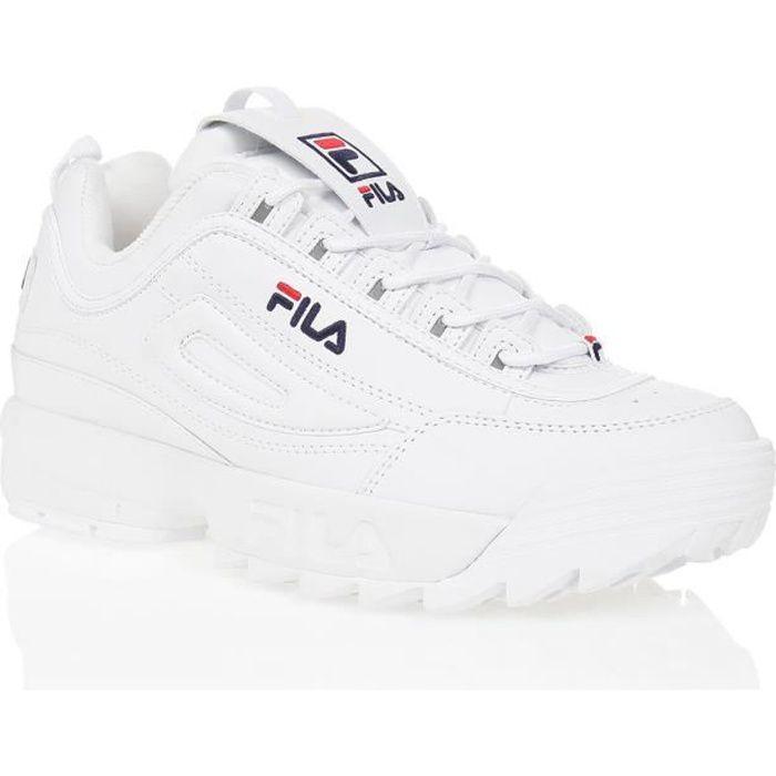 FILA Baskets Disruptor - Homme - Blanc