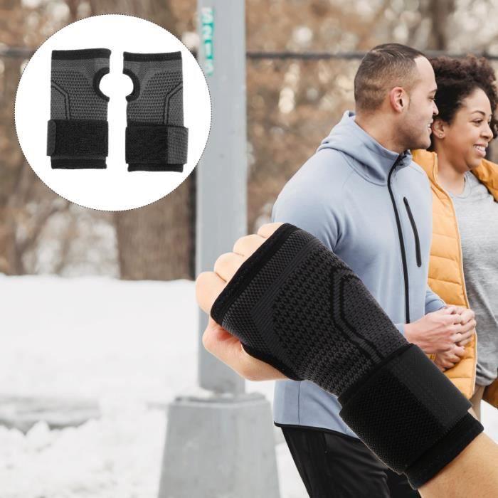 2pcs Breathable Wrist Band Brace Training Support Protector Size APPAREIL ABDO - PLANCHE ABDO