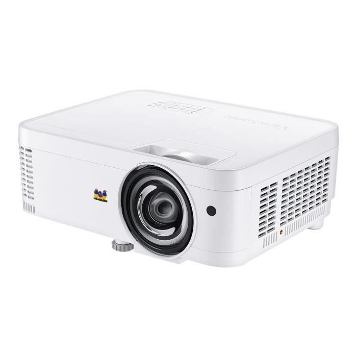 VIEWSONIC Projecteur DLP PS600W Objectif Focale Courte - 16:10 - 3D Ready - WXGA - Résolution 1280 x 800