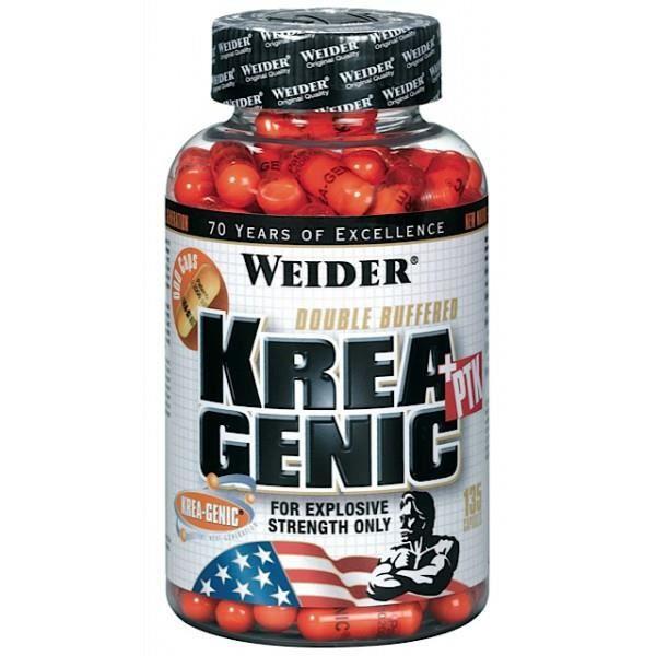 WEIDER Pot Compléments alimentaires de Krea-genic + ptk 132 megacaps