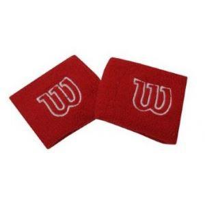 2 SERRES POIGNETS BANDEAUX WILSON ROUGE wr5602900