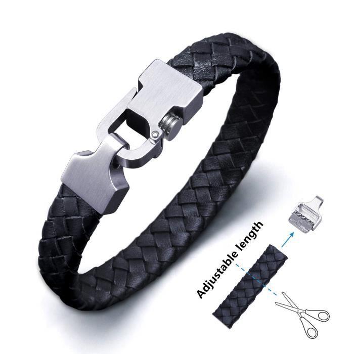bracelet cuir poignet
