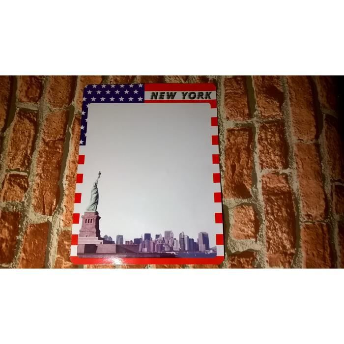 Memo en aimant new york nyc city deco achat vente m mo for Deco murale new york
