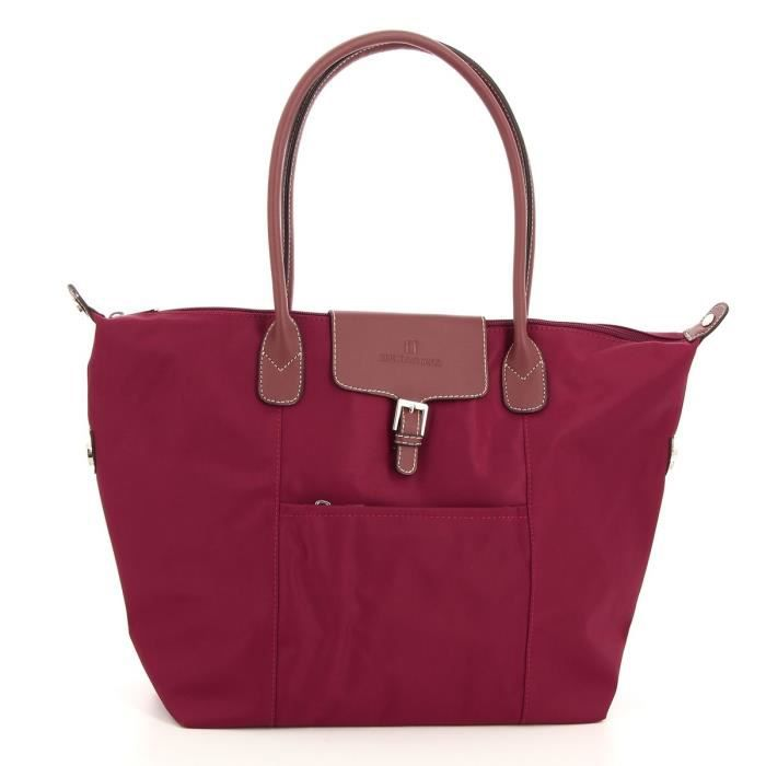 Sac shopping Hexagona Rouge oPMu2