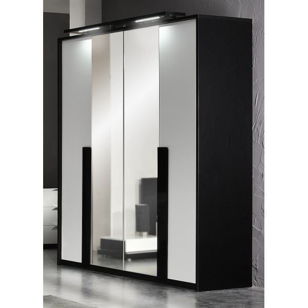 armoire chambre design pas cher. Black Bedroom Furniture Sets. Home Design Ideas