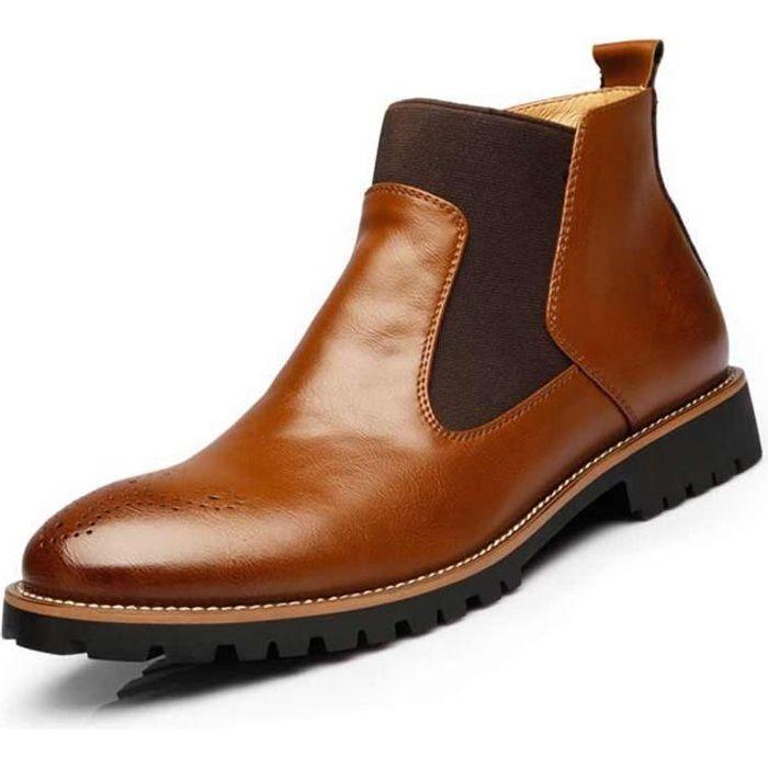 Homme Chaussures Bottines sculpté Martin 39 Automne cuir Bullock ville D'hiver de Classic Bottes 46Jaune Chaussure QeBCxrodEW