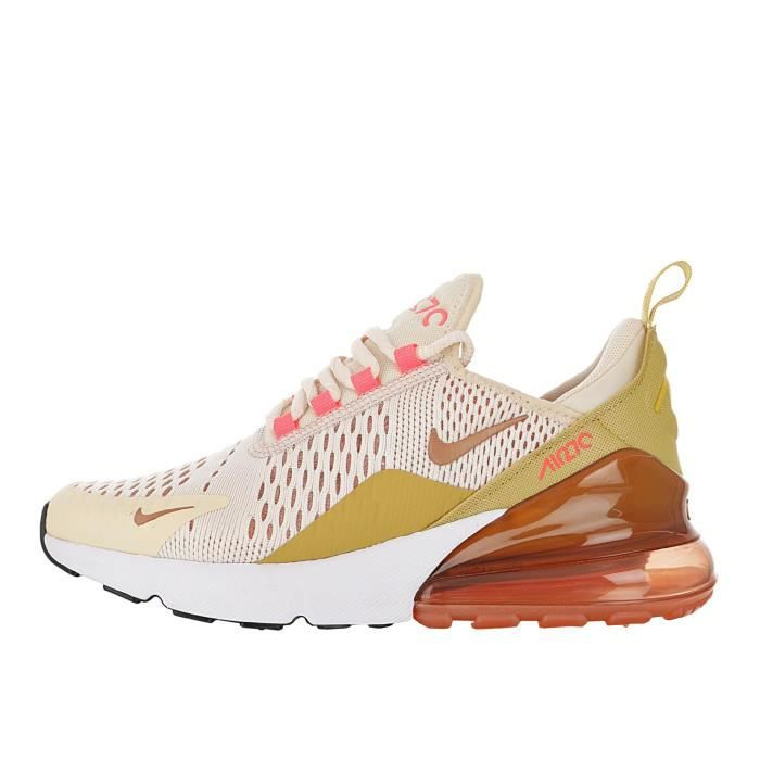 Baskets NIKE Air Max 270 Femme Orange