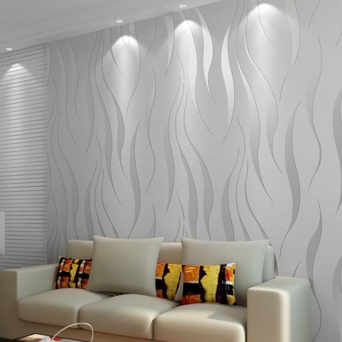 Rouleau De Papier Peint Non Tissé Pour Decoration Mural Mur
