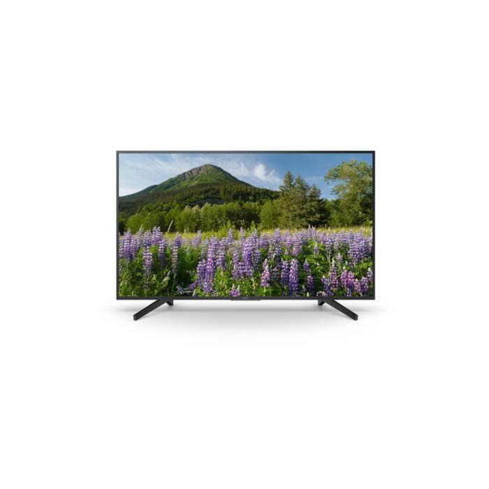 """Téléviseur LCD Sony KD-65XF7005, 163,8 cm (64.5""""), 4K Ultra HD, 3"""