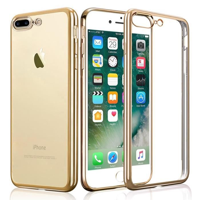 Coque iPhone 7 plus- iPhone 8 plus , WELKOO®,coule