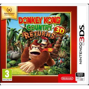 JEU 3DS Donkey Kong Country Returns 3DS Jeu Nintendo Selec