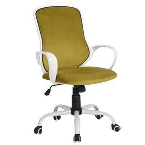 CHAISE DE BUREAU Fauteuil de Bureau, Jaune, chaise de bureau jaune