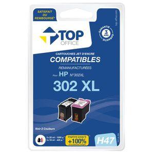 CARTOUCHE IMPRIMANTE Pack de cartouches d'encre compatibles HP : 302 XL