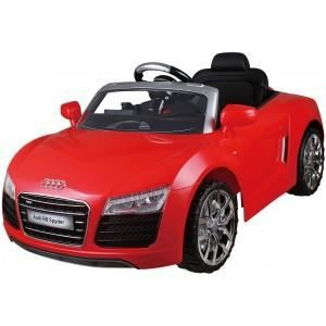voiture lectrique audi r8 spyder rouge achat vente voiture enfant cdiscount. Black Bedroom Furniture Sets. Home Design Ideas