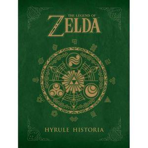 LIVRE JEUX ACTIVITÉS Livre The Legend of Zelda Hyrule Historia.