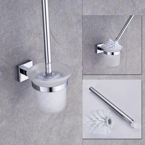 BROSSE WC Auralum®  Brosse de Toilettes avec Support Mural P
