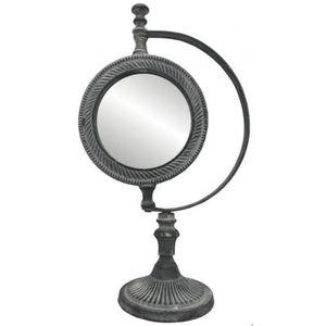 MIROIR Grand Miroir Psyché à Poser sur Pied en Fonte d'Al