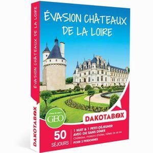 COFFRET SÉJOUR DAKOTABOX - Coffret Cadeau - ÉVASION CHÂTEAUX DE L