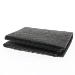 FILTRE POUR HOTTE HOME EQUIPEMENT - Filtre charbon rectangulaire à d