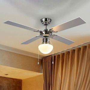 VENTILATEUR DE PLAFOND Lampenwelt ventilateur de plafond avec éclairage p