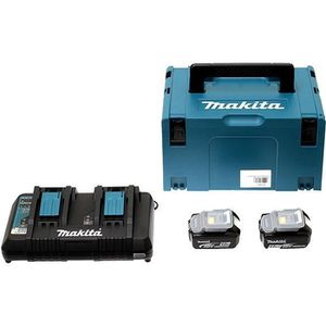BATTERIE MACHINE OUTIL Pack Énergie MAKITA 18V Li-Ion + 2 batteries 18V 4