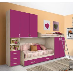 lit a etage achat vente lit a etage pas cher soldes cdiscount. Black Bedroom Furniture Sets. Home Design Ideas
