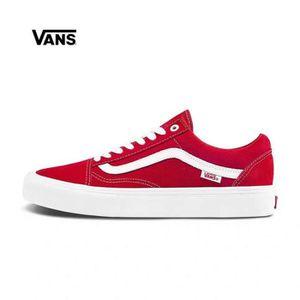 vans rouge old skool femme