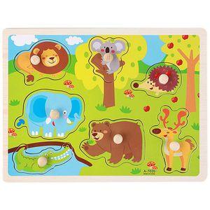 PUZZLE Puzzle en bois pour connaître les animals dans la