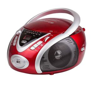 RADIO CD CASSETTE TREVI 0054202Radio CD Portable - USB - Jack 3,5mm
