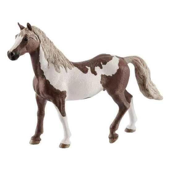 Schleich 13889-Horse Club-Knabstrupper étalon