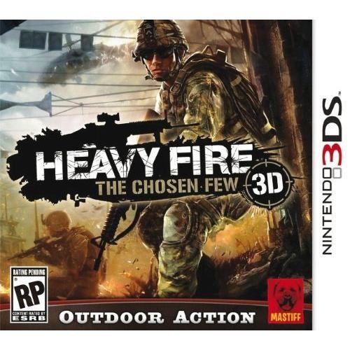 HEAVY FIRE CHOSEN FEW / Jeu console 3DS