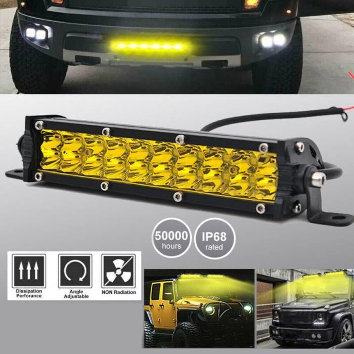 7- 180W barre de led Offroad Phare Rampe de travail Plongée Offroad 4WD feux de travail à LED Pour Tractor Bateau Voiture