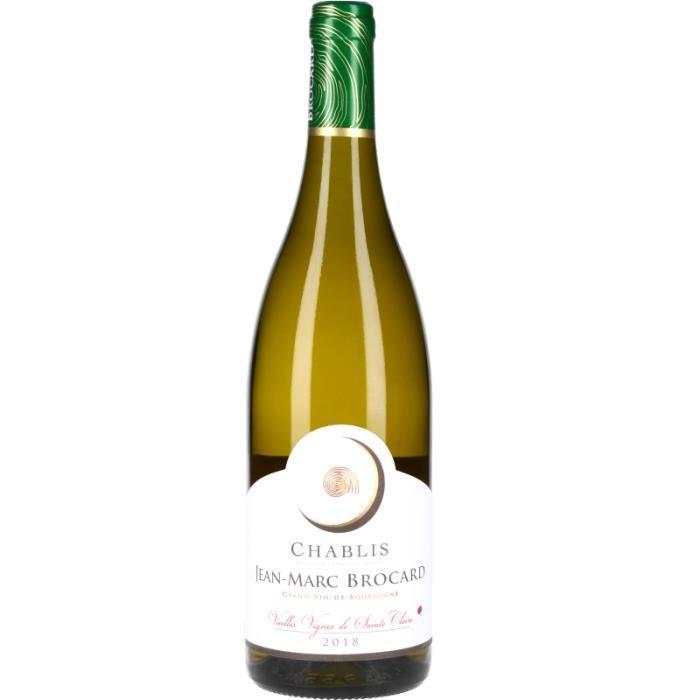 Vin Blanc - Chablis Les Vieilles Vignes de Sainte-Claire 2018 - Bouteille 75cl