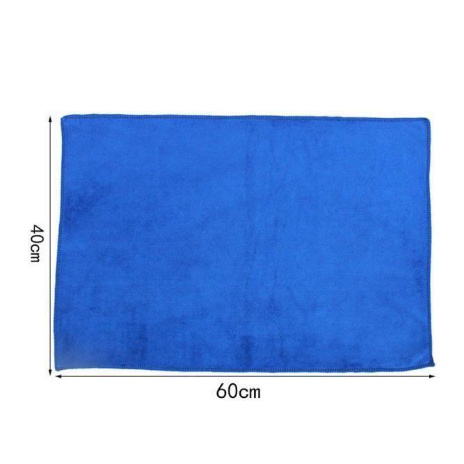 HT 40 * 60 cm bleu absorbant lave linge auto entretien microfibre serviettes de nettoyage - HTTNS903A4458