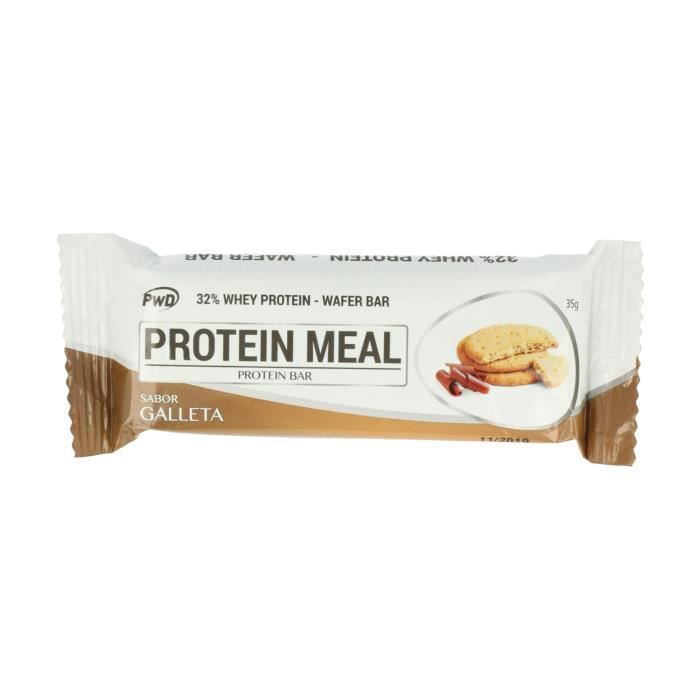 Pwd+Barre Protein Meal 1 barre de 35g (Biscuit)