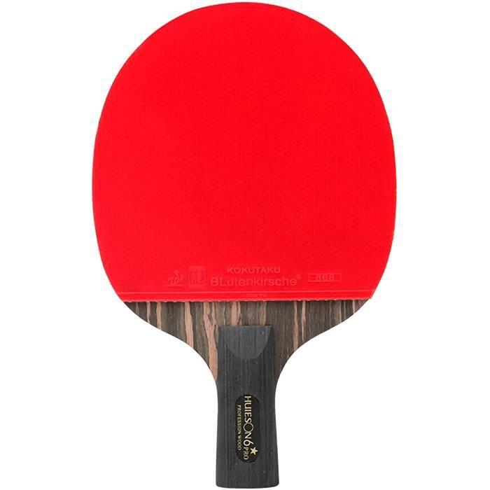 raquette de ping pong,raquette de tennis de table professionnelle 6 étoiles rebond rapide excellent contrôle et confortable pour l