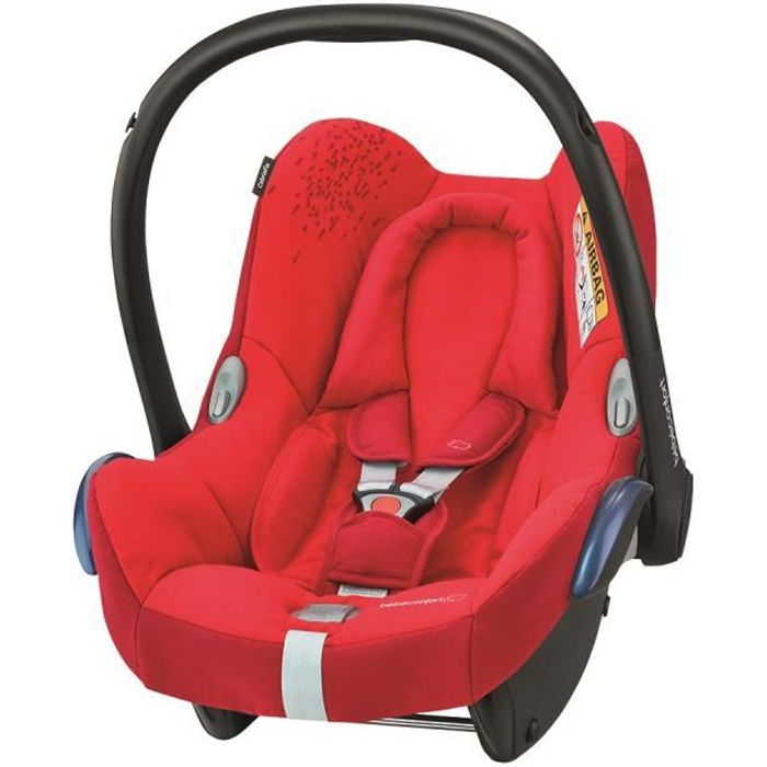 BEBE CONFORT Siège auto Cabriofix Groupe 0+ - Vivid red