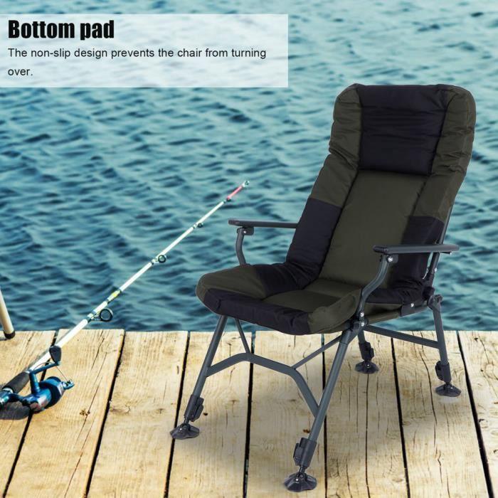 GAR® Chaise Pliant Fauteuil Simplement Pratique pour pêche plage Camping jardin -Rentable