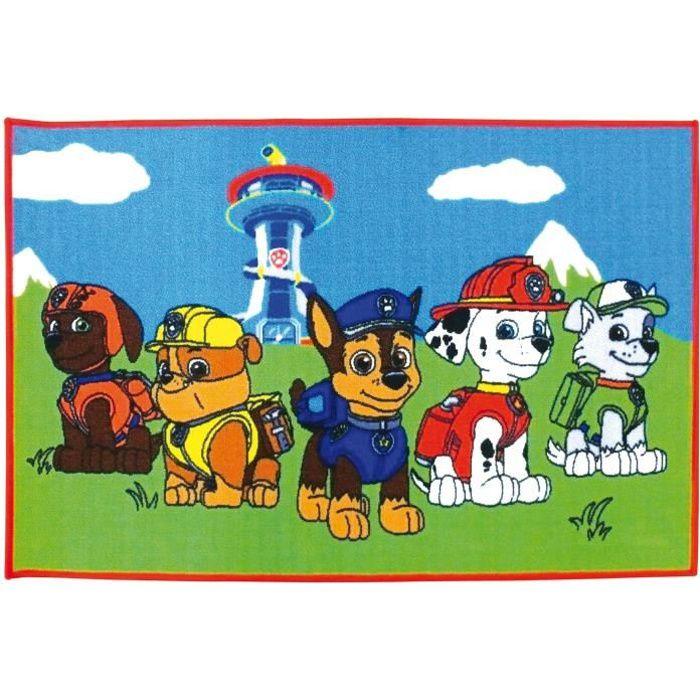 Fun House Pat Patrouille tapis 120x80 cm pour enfant