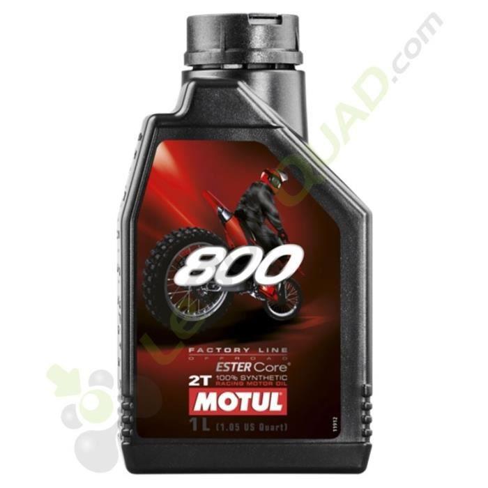 Huile moteur MOTUL 800 2T FACTORY LINE OFF ROAD RACING 1 Litre