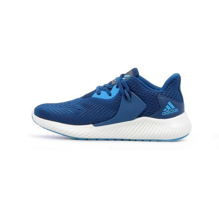 chaussures de running Adidas Alphabounce RC 2 m coloris LEGEND MARINE - SHOCK CYAN - CLOUD WHITE