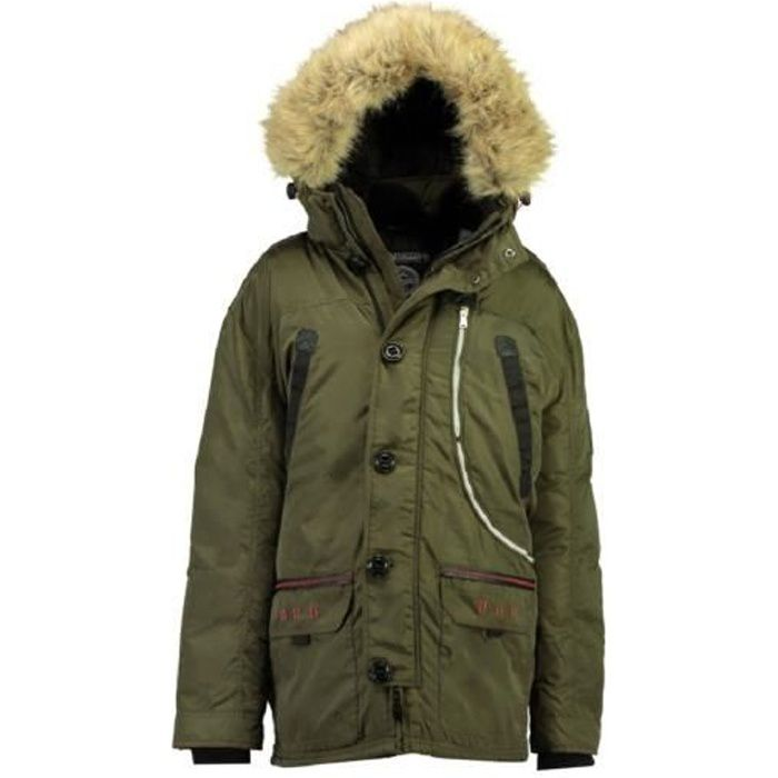 Parka Homme Geographical Norway Carnaval Kaki