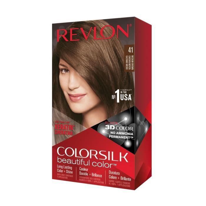 COLORSILK Coloration N°41 - Châtain moyen - 59,1 ml