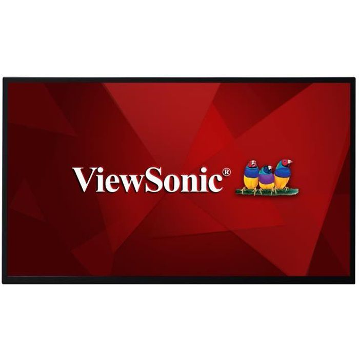 VIEWSONIC Ecrans à affichages dynamiques LCD CDE3205-EP 81,3 cm (32-) - 1920 x 1080 - WLED - 350 cd/m² - 1080p - USB - HDMI