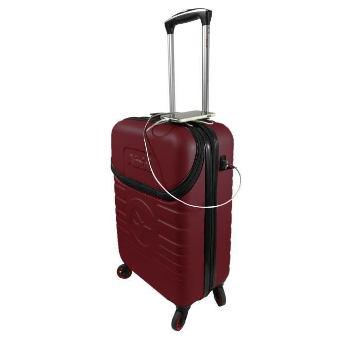 """Easyjet Ryanair 55x35x20cm Boussole Rigide Porter 21/"""" Sac de Cabine Bagages à Main"""