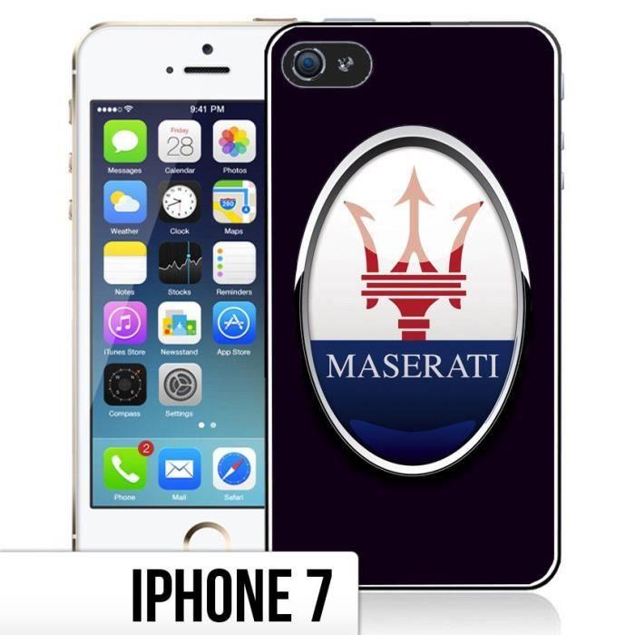 Coque iPhone 7 Maserati