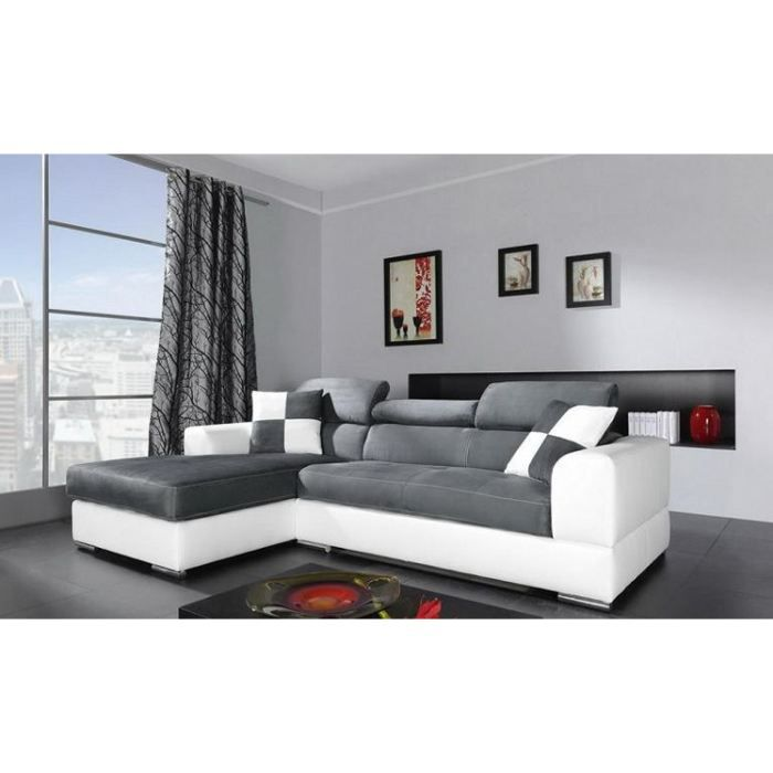 canap d 39 angle 4 places n to angle gauche achat vente. Black Bedroom Furniture Sets. Home Design Ideas