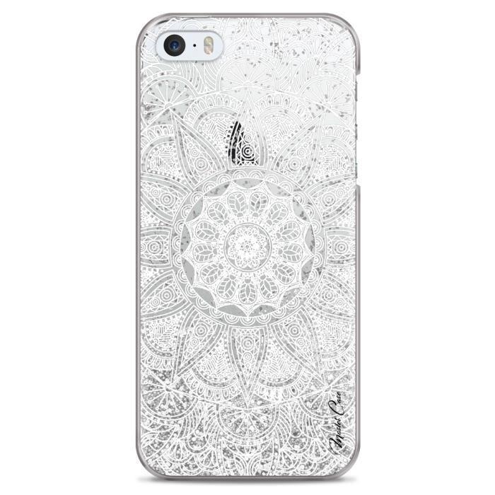 coque iphone 5 5s se transparente motif mandala l