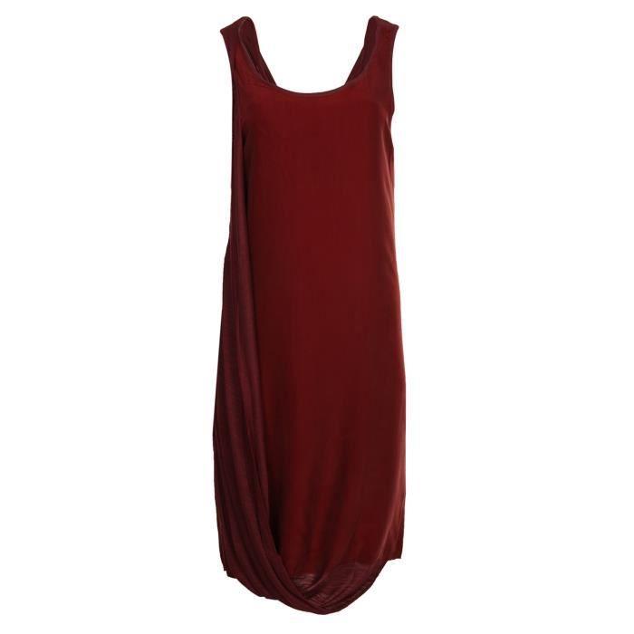 ROBE PRIM I AM Femmes Robe Bordeaux Dramatic PWAU1225-8